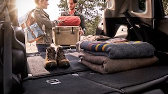 2020 Jeep Compass trunk interior