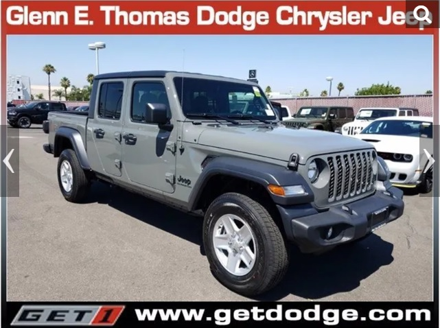 2020 Jeep Gladiator Sport S Hard Top