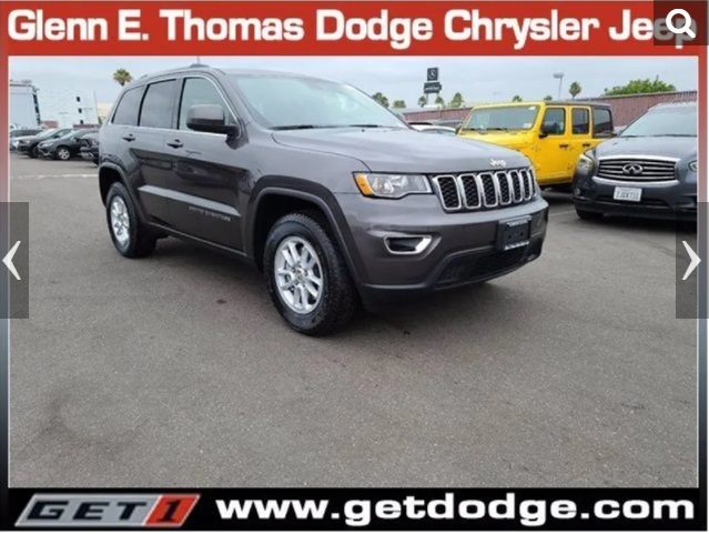2021 Jeep Grand Cherokee Lease Deals Signal Hill Jeep Dealer
