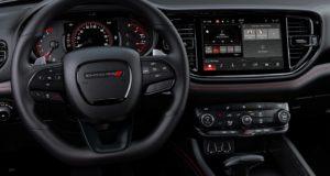 2021 Dodge Durango front interior.
