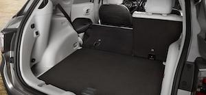 2021 Jeep Compass 60:40 split-folding rear seats.