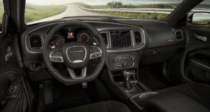 2021 Dodge Charger interior.