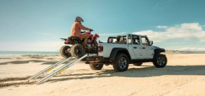 2021 Jeep Gladiator cargo capabilities.