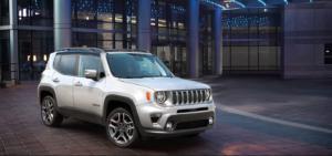 The 2021 Jeep Renegade exterior.