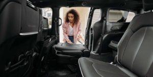 The 2021 Chrysler Pacifica interior.