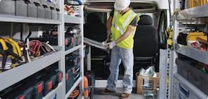 The 2021 RAM ProMaster Van interior